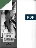 SENNETT, Richard - O declínio do homem público - cap 11 e 12
