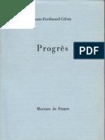 Céline - Progrès