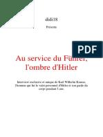 Krause Karl Wilhelm - Au Service Du Führer