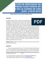 Investigación de Mercados Four Points by Sheraton - USMA 2016.docx