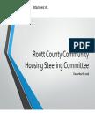 Housing Steering Exec Summary 2