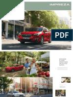 Brochure Impreza 17MY