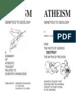 Atheism - Genetics to Geology - Maurice de Bona 2006
