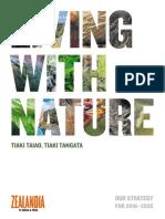 Living With Nature, Tiaki Taiao, Tiaki Tangata