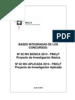 FINCyT 2014 Bases Integradas IB IA 080714