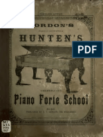 Gordon's Enlarged and Improved Edition of Hunten's Celebrated Piano Forte School (by Franz Hünten) (1867)