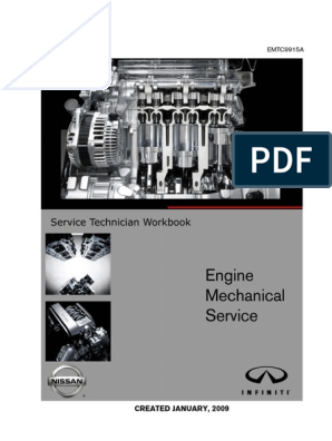 Engine Mechanical Text Section | Internal Combustion Engine