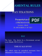 Pay Fixations