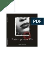 Primera Persona Ella - Omar Pimienta