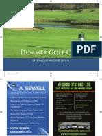 Print Ready - Dummer Golf Club