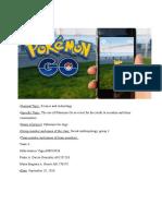 PokemonGo-Antrhropology