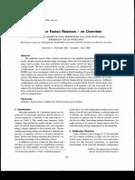 Stellarator Fusion Rectors Overview