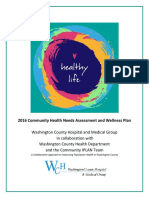 2016 Community Health Needs Assessment And Wellness Plan