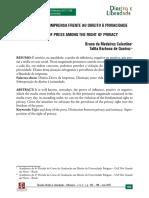 A LIBERDADE DE IMPRENSA FRENTE AO DIREITO À PRIVACIDADE_Bruno Celestino e Talita Queiroz.pdf