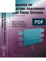 @Analysis of Electric Machinary and Drive Systems