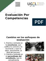 Evaluacion Por Competencias Taller Ugel 4 Dic 16