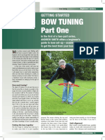 Bow Tuning Part 1 Bow Int