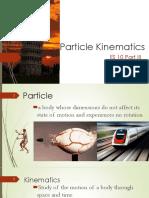 Lec 1 - Particle Kinematics
