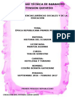 UNIVERSIDAD TÉCNICA DE BABAHOYO historia del ecuador.docx