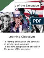 12  scrutiny of the executive pptx