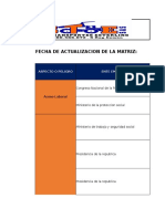 Gg-fo-03 Matriz de Requisitos Legales 12 Junio 2015