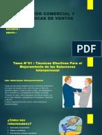 exposicion-grupal, gestión comercial y tecnicas de venta
