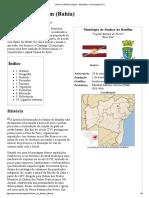 Senhor Do Bonfim (Bahia) – Wikipédia, A Enciclopédia Livre