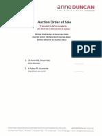 Auction Order of Sale Dec 14 2016
