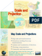 SUG243 - Cartography (Map Scale and Projection)