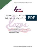 Minuta Reforma ESUP, Plataforma LAZOS