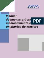 Manual de Buenas Prácticas Medioambientales en Plantas de Mortero
