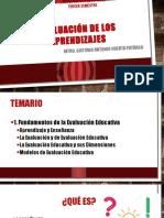 Fundamentos de La Evaluación de los Aprendizajes