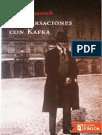 Gustav Janouch-Conversaciones Con Kafka