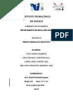 Proyecto Brazo Hidraulico Didactico