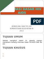 1. HIV Dasar-lengkap KTHIV