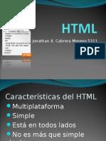 Presentación HTML