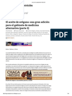 Carvacrol _ Longevidad y Nutrición