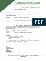 Oficios Multiples Año 2012