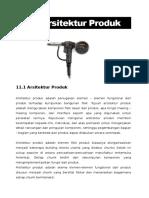 Modul-11 Arsitektur Produk