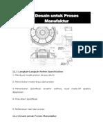 Modul-12 Desain Untuk Manufaktur