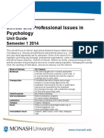 PSY4220 Unit Guide 2014
