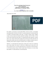 lecture 3 for operation resarch of Forecasting important for Gate