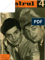 Revista Teatrul, nr. 4, anul VII, aprilie 1962