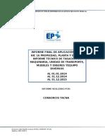 Informe Técnico de Tasación(EPS TACNA S.a.)