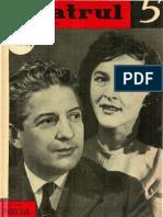 Revista Teatrul, nr. 5, anul VII, mai 1962