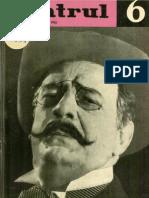 Revista Teatrul, nr. 6, anul VII, iunie 1962