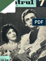Revista Teatrul, nr. 7, anul VII. iulie 1962
