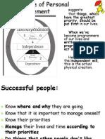 3 Principle of Personal ManagementDruckversion