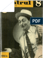 Revista Teatrul, nr. 8, anul VII, august 1962