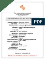 Contenido Programatico AEA Modulo V